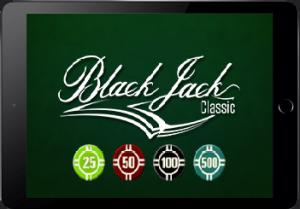 Blackjack op Ipad spelen
